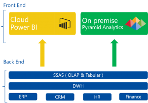 Pyramid Analytics und Power BI